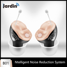 Mini dispositivo para audífonos B01, pequeño, Invisible, ajustable, amplificador de sonido