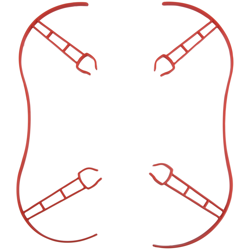 Drone Bumper Propeller Props Protector Guard Ring For Parrot Bebop 2.0, Red