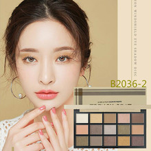 Matte Eyeshadow Palette Makeup-Set Korean Cosmetics Nude-Color Pigment-Powder Mixable