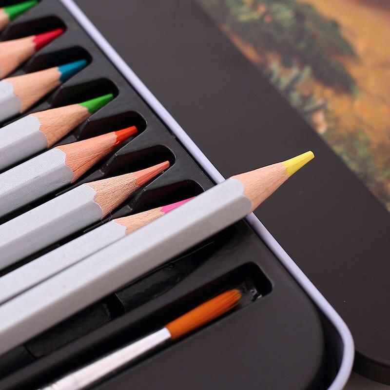 arte colorido lapis conjunto 6518 para pintura 05