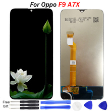 6.3 inch A7X F9 LCD for OPPO A7X LCD display touch panel screen digiziter sensor assembly for OPPO F9 display replace parts все цены