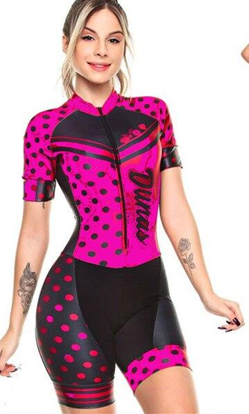 2019 pro equipe triathlon terno feminino camisa de ciclismo skinsuit macacão maillot ciclismo ropa ciclismo conjunto rosa almofada gel 2
