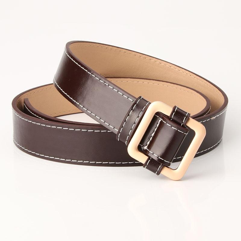 Female PU leather belts for women Jeans Dress Waist Strap dress Belt PY56