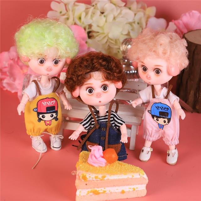 DBS Dream Fairy 1/12 BJD DODO doll 15cm doll toy ob11 mini doll with clothes shoes 5