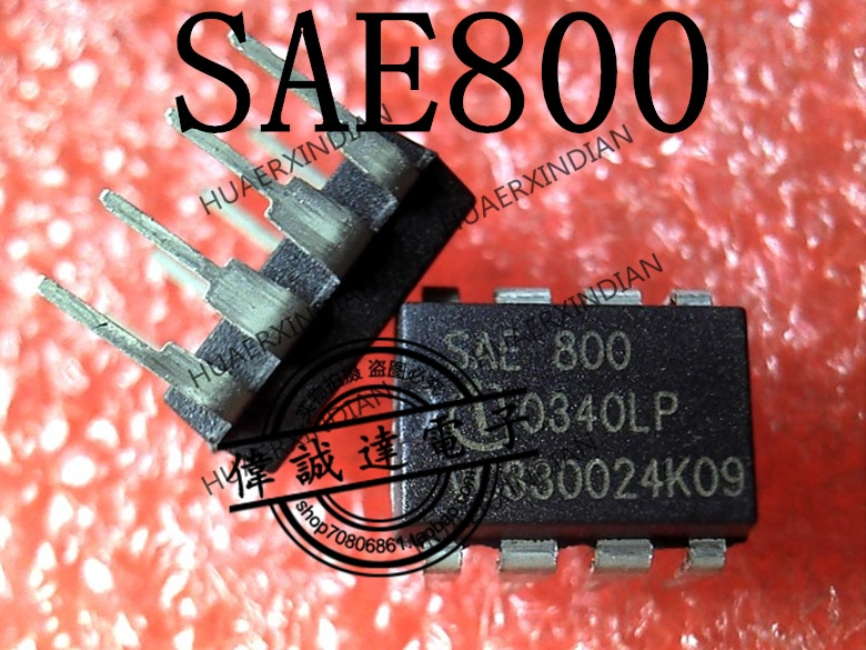 1Pieces new Original SAE800 SAE 800 DIP-8  6   In stock  Authentic stable quality