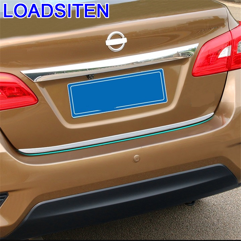 Car Decorative Automovil Window Trunk Rear Panels Foot Pedal Exterior Covers Accessory 12 13 14 15 16 17 18 19 FOR Nissan Sylphy|Chromium Styling| |  - title=