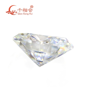 Image 4 - DF GH IJ color white oval shape dia mond cut Sic material moissanites loose gem stone qianxianghui