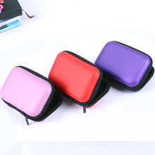 Box Round Square Waterproof, Sd, Card Cable Earplug Storage Box Usb Hard Shell Earphone Bag Keychain Bag