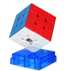 Image 4 - مكعبات سحرية سريعة وممغنطة MoYu Weilong WR M 3x3x3 لغز مكعبات مسابقات cubo magico