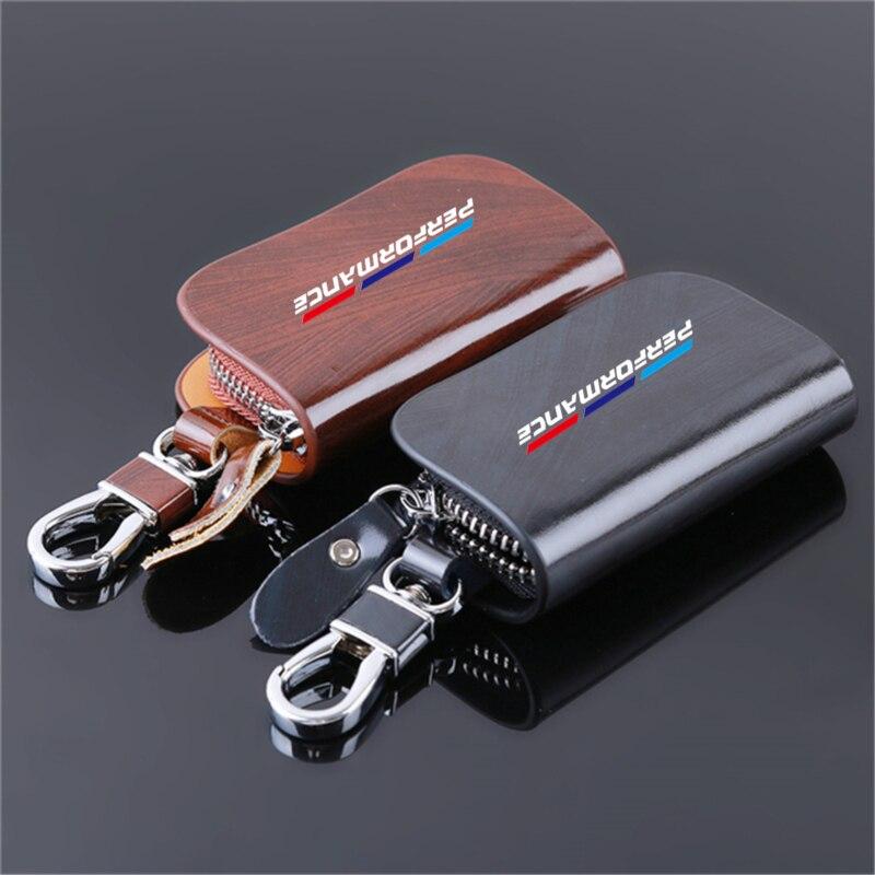 For BMW E46 E39 E90 E91 E60 E36 E92 E30 E34 E70 E87 Genuine leather car key case wallet fashion cow leather brand car key holder|Key Case for Car| - AliExpress