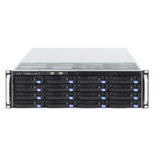 19Inch 3U Rack-Mount Hot-Swap Chassis 16HDD Bays Storage Server S365-16 Meerdere Backplane Opties Ondersteuning 12 ''* 13 ''Motherboard