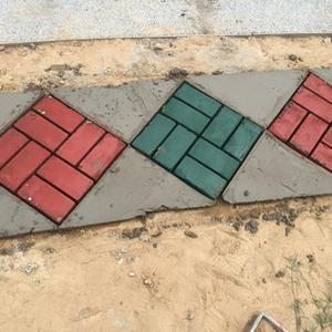 Черный пластик, сделай сам, форма для тротуара, домашний сад, пол, дорога, бетон, Шаговая дорожка, каменная дорожка, форма для патио, садоводство