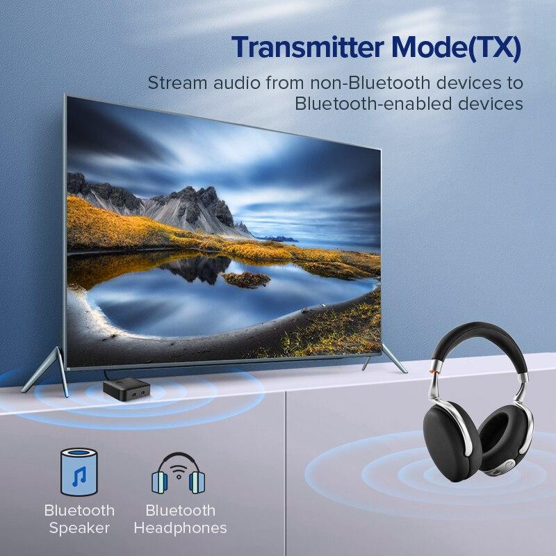 Ugreen Bluetooth 5.0 Receiver Transmitter 4.2 aptX HD for TV Headphone Optical 3.5mm SPDIF Bluetooth AUX Audio Receiver Adapter