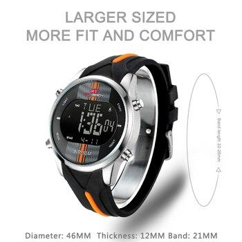 Fashion Brand Men Watch Waterproof Sport Watch Outdoor Silicone Strap Led Digital Watch Men Clock Erkek Kol Saati Hodinky 2
