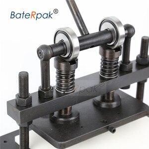 Image 3 - 26 × 16 センチメートルダブルホイール手の革切断機、baterpak写真用紙、pvc/evaシート型カッター、革ダイ切断機