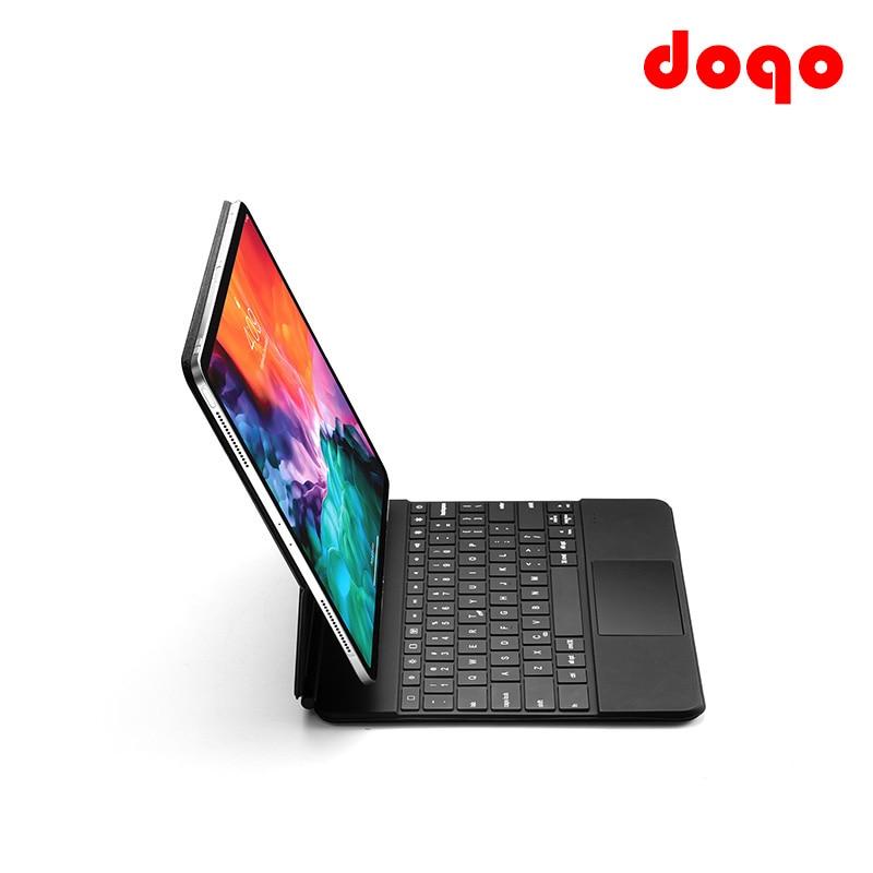 Permalink to DOQO Magic Keyboard Mouse for iPad Pro 11 12.9 10.9 2021 2020 2018 iPad Air 4 Tablet Case Wireless Bluetooth Backlight Keyboard