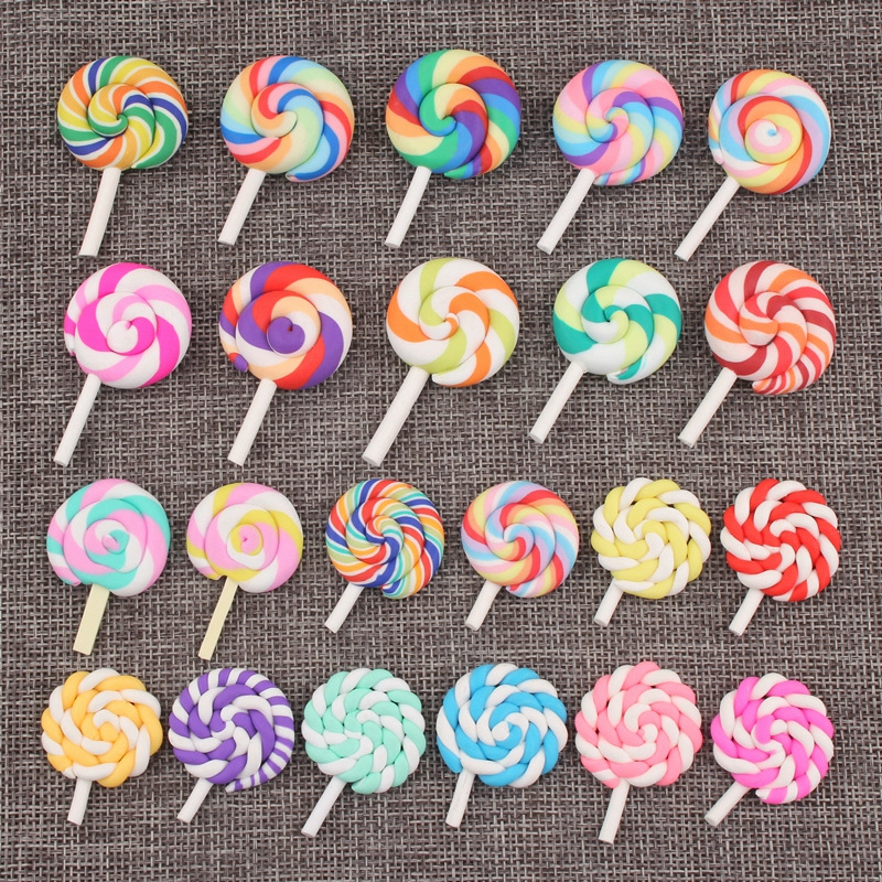 Addition Slime Candy Accessories Supplies Accessories DIY Lollipop Decoration For Slime Filler Slime Kids Toys Decoration Gift