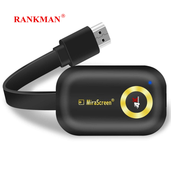 RANKMAN Mirascreen EZcast Anycast 4K TV Stick Wireless WiFi Display Receiver HDMI Dongle Miracast DLNA Airplay for Android IOS measy w2h wireless hdmi transmitter and receiver tv stick dongle easycast hdmi wifi display receiver dlna airplay miracast airmi