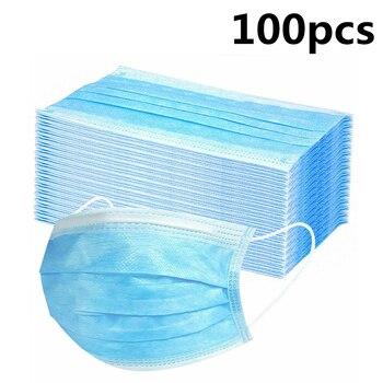 Μάσκες προστασίας προσώπου μιας χρήσης