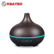 150ml Aroma Essential Oil Diffuser Ultrasonic Air Humidifier with 4 Timer Settings 7 Color Changing LED lamp Whole House Humidi