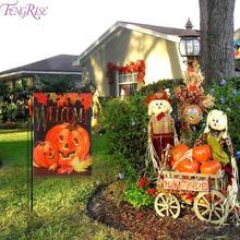 Staraise Halloween Decoration Welcome Pumpkin Flag Party Decor 2019 Event Supplies Accessory