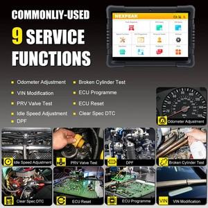 Image 4 - NEXPEAK ماسح ضوئي تشخيصي للشاحنات ، أداة تشخيص السيارة ، نظام كامل ، ABS ، وسادة هوائية ، DPF ، عداد المسافات ، الشاحنة ، OBD