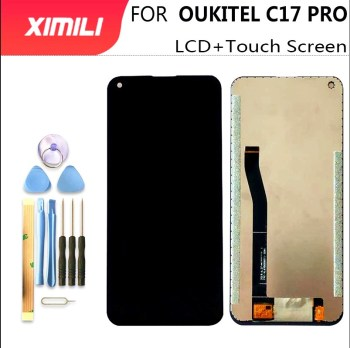 "New 6.35""For OUKITEL C17 LCD Display+Touch Screen 100% Original Tested LCD Digitizer Glass Panel Replacement For Oukitel C17 Pro"