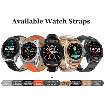 """Smart Watch 1.2"""" Waterproof Fitness Tracker Heart Rate Monitor Smart Wristwatch Compatible with Android iOS"""