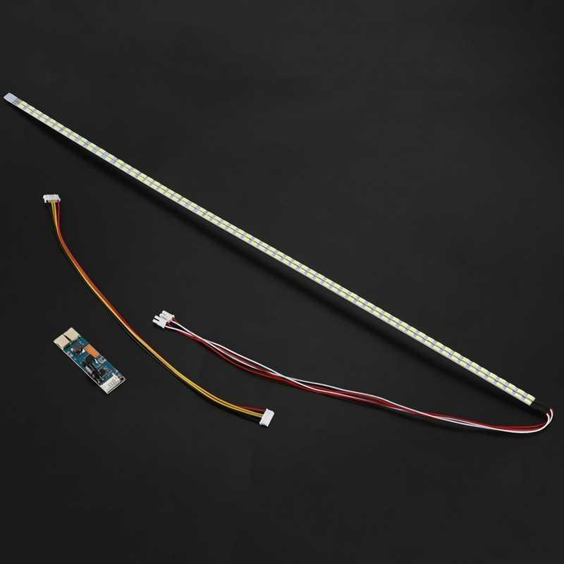Промо-акция! Универсальный Выделите затемнения светодиодный Подсветка лампы обновления Комплект регулируемая светодиодная лампа для ЖК-дисплей монитор 2 светодиодный полоски
