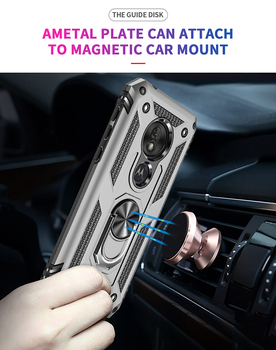 Shockproof Armor Case For Motorola Moto G7 G6 E6 Plus P40 Power E5 Play One zoom Pro action Z4 Protective Magnetic Phone Cover 2