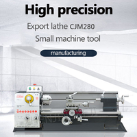 CJM280 Bench Lathe Industrial Machine Tool Small Bench Lathe Household Metal Machine Tool Machining Center