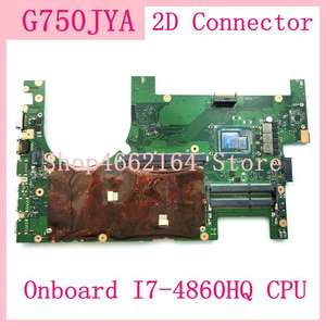 Mainboard G750JYA ASUS for Laptop 100%Tested I7-4860HQ CPU