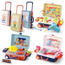 Инструмент для ремонта моделирования игрушка мальчиков ручное