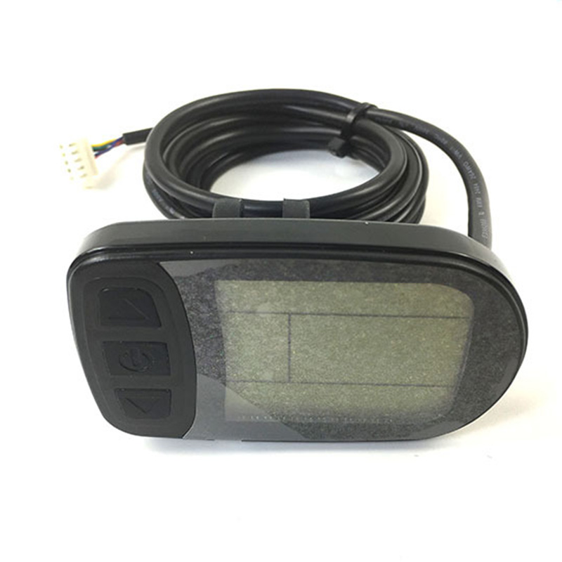 1pc ABS <font><b>Bike</b></font> <font><b>LCD</b></font> <font><b>Display</b></font> Bicycle Cycling For KT Series <font><b>Controller</b></font> Scooter Conversion Accessories image