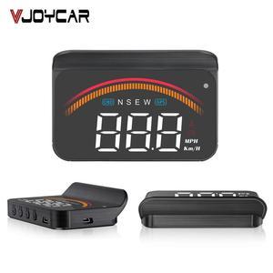 Image 1 - Pantalla para coche OBD2, M11, GPS, HUD, velocímetro Digital, voltímetro, parabrisas, velocidad, proyector, alarma de seguridad, Temp, PK, M7
