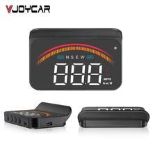 자동차 obd2 헤드 최대 디스플레이 m11 gps hud 디지털 속도계 과속 전압 앞 유리 속도 프로젝터 보안 알람 온도 pk m7