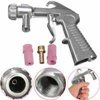 Sandstrahler Feed Explosion Pistolen Siphon Sandstrahlen Schleif Werkzeug Keramik Werkzeuge Sprayer Tipps Kit Mit 2 Düse 5/6mm
