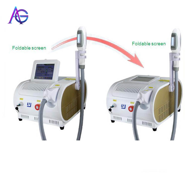 Portable OPT SHR IPL Hair Removal Machine High-Efficiency Fast  Safety For Home Use
