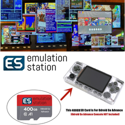 Emulation Station 400G Fully Loaded Micro SD Card For Odroid Go Advance V2.0 16,000+ Games Arcade Mame etc. Plug&Play