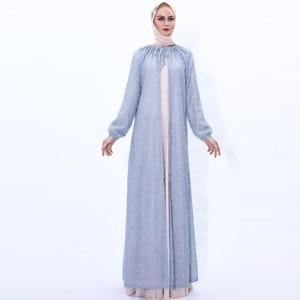 Open Abaya Kimono Femme Cardigan Muslim Hijab Dress Turkey Abayas For Women Robe Kaftan Dubai Caftan Islam Clothing Eid Mubarak