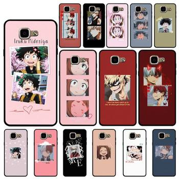 Babaite My Hero Academia Aesthetic Quote Phone Case for Samsung A6 A8 Plus A7 A9 A20 A20S A30 A30S A40 A50 A70 image