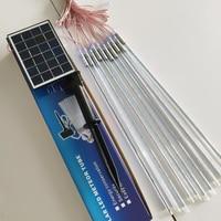 500MM Solar Outdoor String Lights smd 2835 40leds/pc 10tube/set Meteor Tube Outdoor Waterproof Fairy String Lightting for Garden