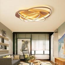 Oval Led Chandelier Lights Luminaire Plafonnier For Living Room Kitchen Bedroom Lamp Modern New Light Fixtures Lighting Dimmable