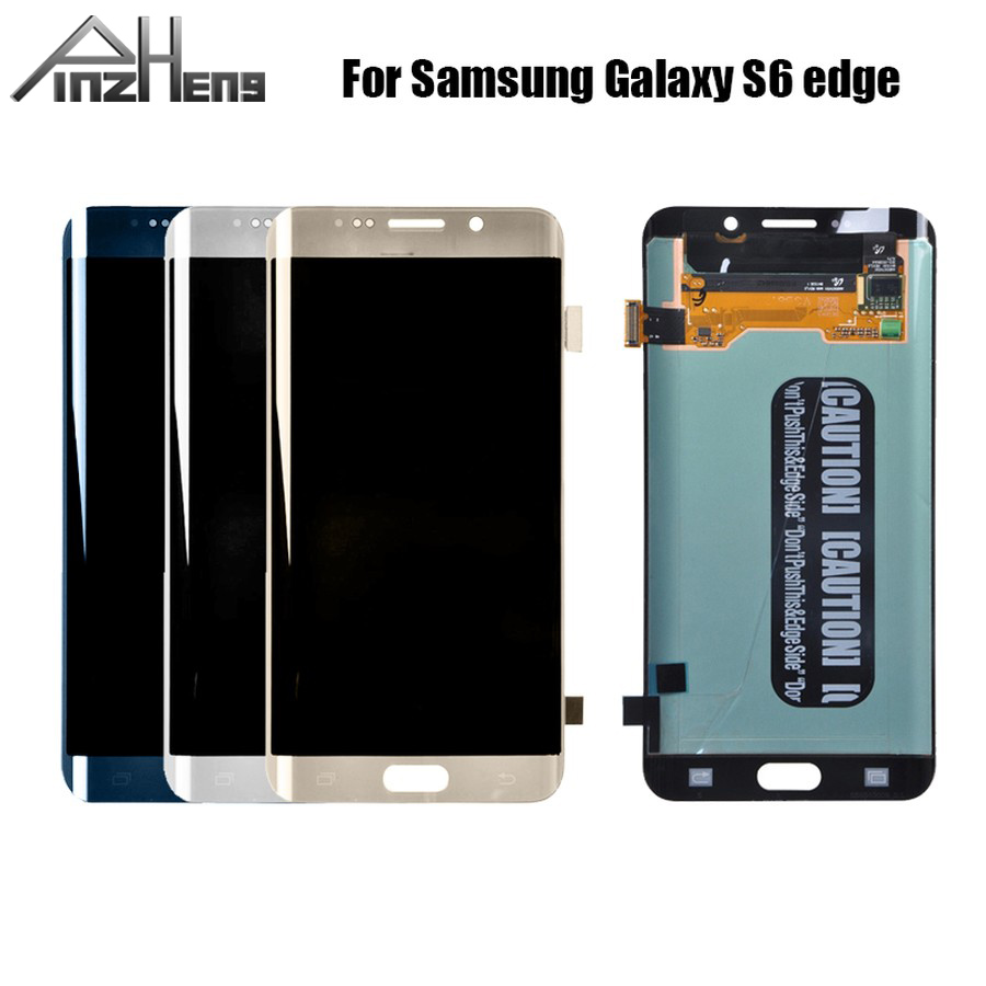 <font><b>Original</b></font> LCD For <font><b>Samsung</b></font> Galaxy <font><b>S6</b></font> <font><b>Edge</b></font> LCD G925 G925F SM-G925F LCD <font><b>Display</b></font> Touch Screen Assembly Without Frame image