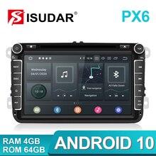 Isudar PX6 Android 2 Din Autoradio Für Volkswagen/VW/Passat/POLO/GOLF/Tiguan Skoda/Octavia Sitz/Leon GPS Auto DVD Player Carplay