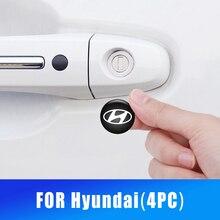 20มม.ประตู Keyhole ป้องกันสติกเกอร์สำหรับ Hyundai IX35 Solaris Accent I30 Tucson Elantra Santa Fe Getz I20ภายใน stylish