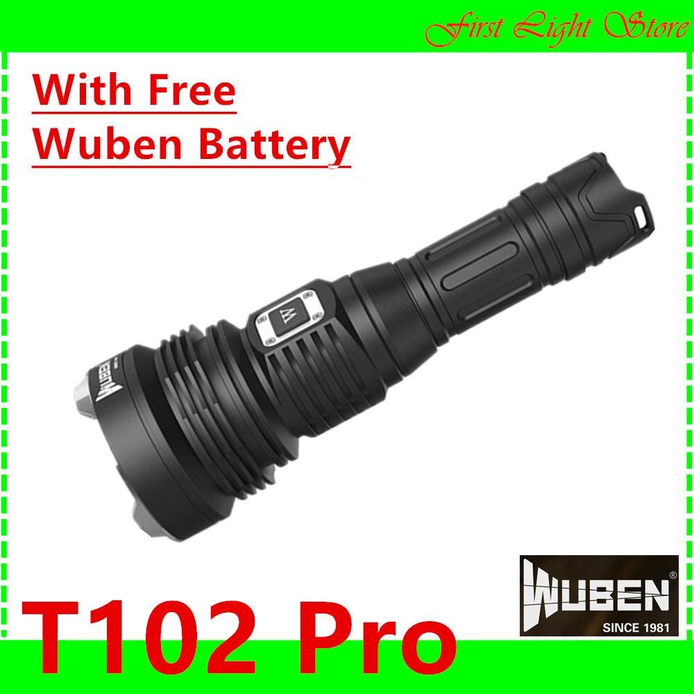 WUBEN T102 Pro Prometheus lampe de poche haute performance super lumineux 3500 Lumens T102Pro