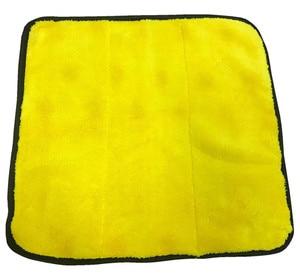 Image 4 - Microfiber Handdoek Car Care Polijsten Wassen Handdoek Pluche Wassen Drogen Handdoeken Dikke Pluche Coral Fluwelen Auto Detailing Cleaning Doek