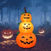 Halloween Pumpkin Inflatable Lanterns Holloween Inflatable Doll Outdoor Holiday Garden Yard Lawn Decorations