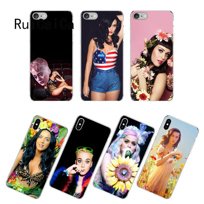 RuiCaiCa Katy Perry Phone Case fundas for iPhone 12 8 7 6 6S Plus X XS MAX 5 5S SE XR 12 11 pro promax coque